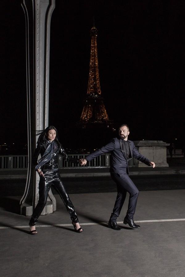 Kha Mỹ Vân diễn tại Tuần lễ thời trang cao cấp Paris - ảnh 2