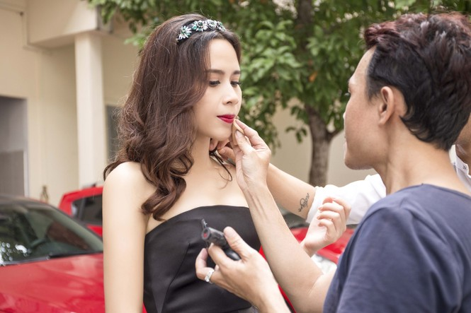 Lưu Hương Giang gợi cảm ngồi ghế nóng The Voice Kids - ảnh 5