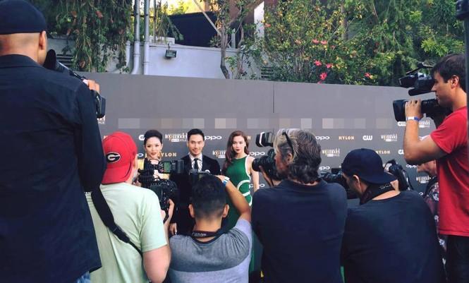 Tóc Tiên, Hà Hồ 'tự sướng' cùng Tyra Banks ở Mỹ - ảnh 8