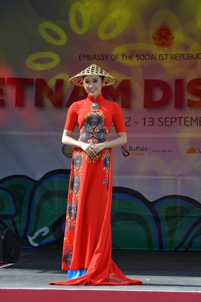 Bản tin Hoa hậu: Huyền My dự festival Vietnam Discovery ở Anh - ảnh 2