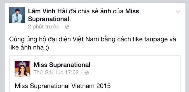 Sao Việt đồng loạt kêu gọi bình chọn cho Lệ Quyên - ảnh 3