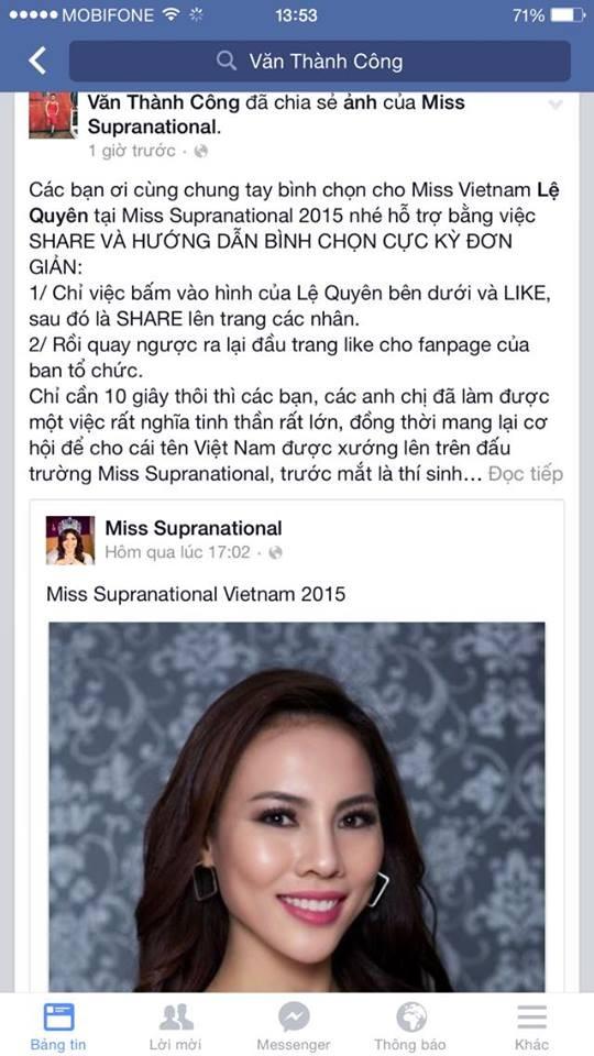 Sao Việt đồng loạt kêu gọi bình chọn cho Lệ Quyên - ảnh 4