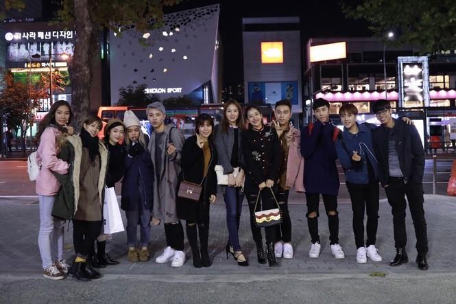 Chi Pu mặc sành điệu đến Hàn Quốc dự sự kiện - ảnh 8