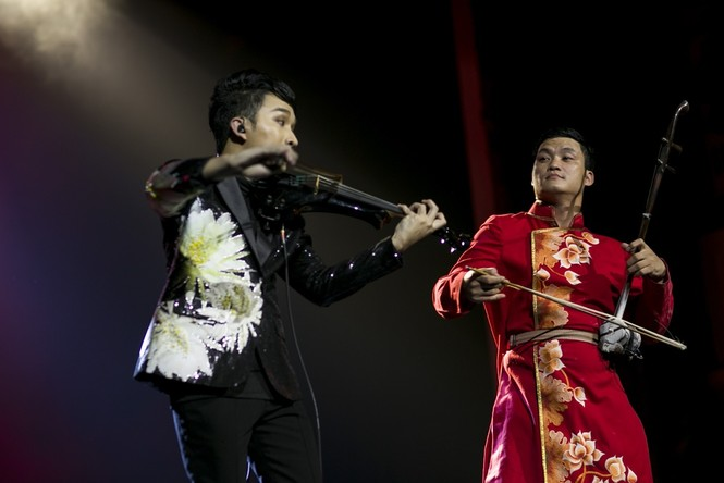 Linh Nga, Thu Phương phiêu cùng tiếng violin của Hoàng Rob - ảnh 10