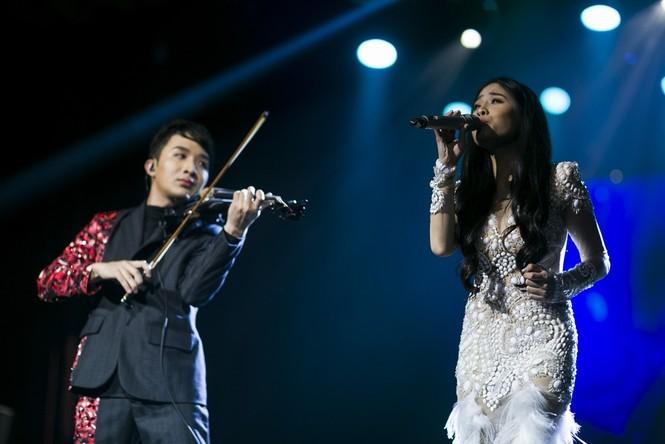 Linh Nga, Thu Phương phiêu cùng tiếng violin của Hoàng Rob - ảnh 7
