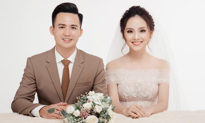Ảnh cưới lung linh của Top 10 HHVN Tố Như và 'hot boy cảnh sát' - ảnh 9