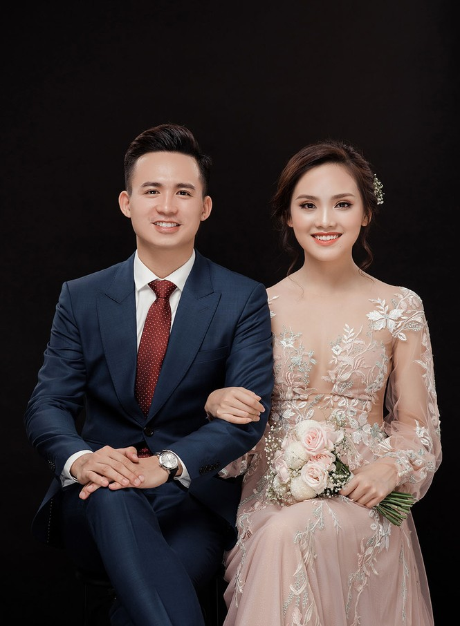 Ảnh cưới lung linh của Top 10 HHVN Tố Như và 'hot boy cảnh sát' - ảnh 12