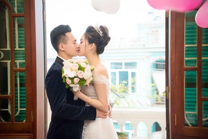 Top 10 HHVN Tố Như diện váy cưới đính kim cương trong hôn lễ - ảnh 4