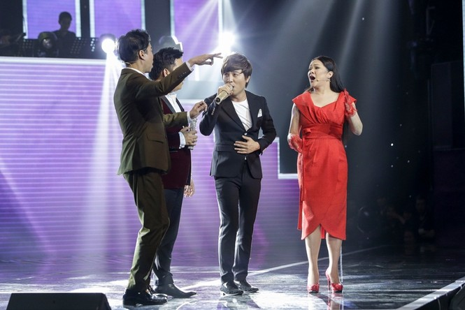Ngọc Sơn, Quang Lê tranh cãi về chuyện lụy tình trên sóng truyền hình - ảnh 5