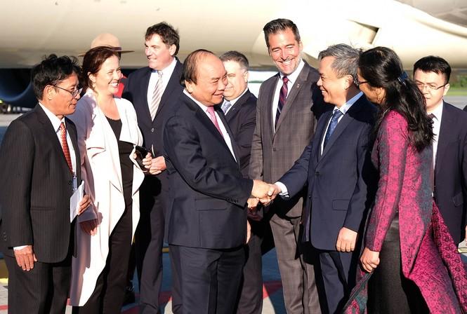 Thủ tướng Nguyễn Xuân Phúc đến thành phố Québec - ảnh 1