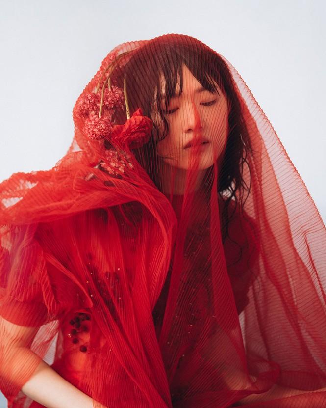 Hoa hậu Nhật Bản 2012 trở thành 'nàng thơ' của NTK Phương My - ảnh 6
