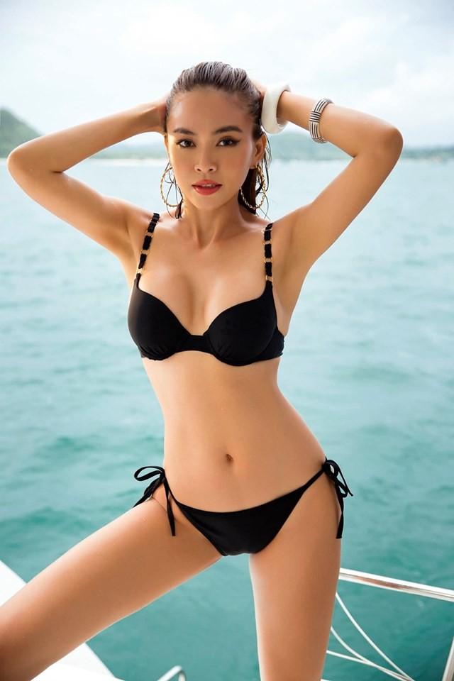 Á hậu Mâu Thuỷ 'đốt mắt' fans với loạt ảnh khoe đường cong hoàn hảo cùng bikini - ảnh 5