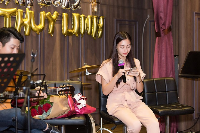 Hoa hậu Tiểu Vy và dàn người đẹp để mặt mộc dự sinh nhật Hoa hậu Lương Thuỳ Linh - ảnh 1