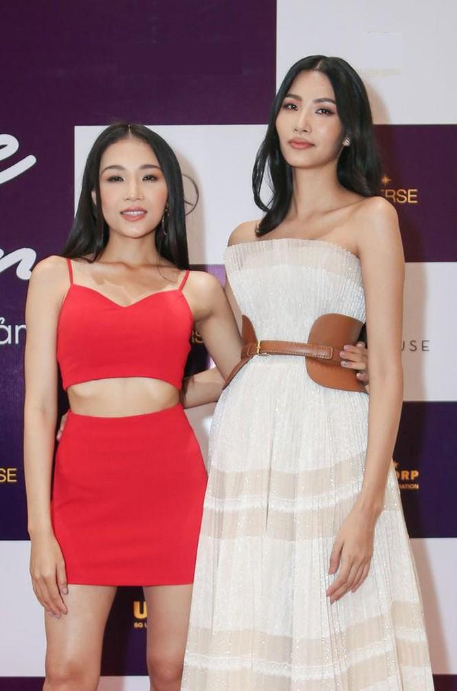 Hoàng Thuỳ lên tiếng khi em gái bị chê lùn vẫn dự thi Hoa hậu Hoàn vũ VN 2019 - ảnh 2