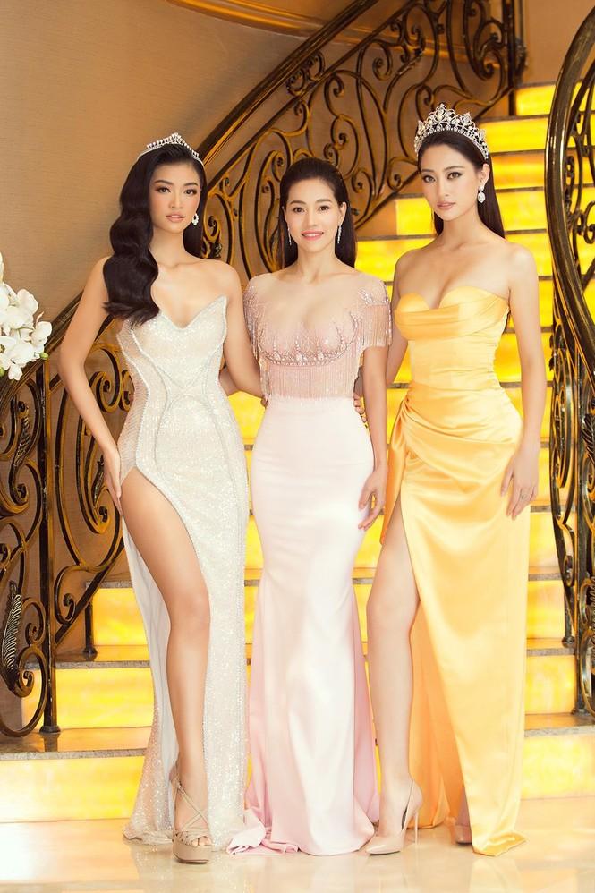 Dàn Hoa hậu, Á hậu lộng lẫy và gợi cảm 'đọ sắc' cùng Hoa hậu Quốc tế 2018 - ảnh 2