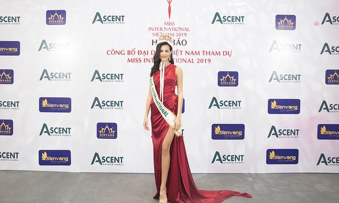 Dàn Hoa hậu, Á hậu lộng lẫy và gợi cảm 'đọ sắc' cùng Hoa hậu Quốc tế 2018 - ảnh 1
