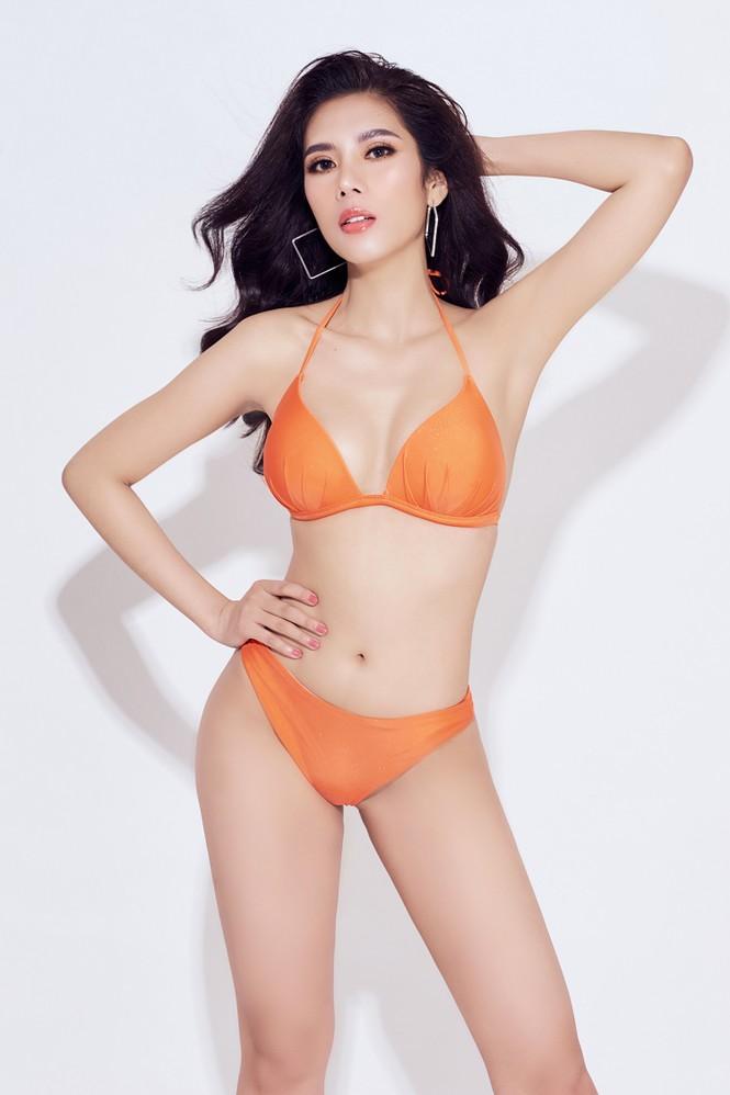 Đại diện Việt Nam tại Hoa hậu Du lịch thế giới 2019 nóng 'bỏng mắt' với bikini - ảnh 5