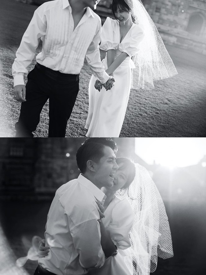 Đông Nhi - Ông Cao Thắng tung ảnh cưới đen trắng đẹp như mơ ở Sydney - ảnh 2