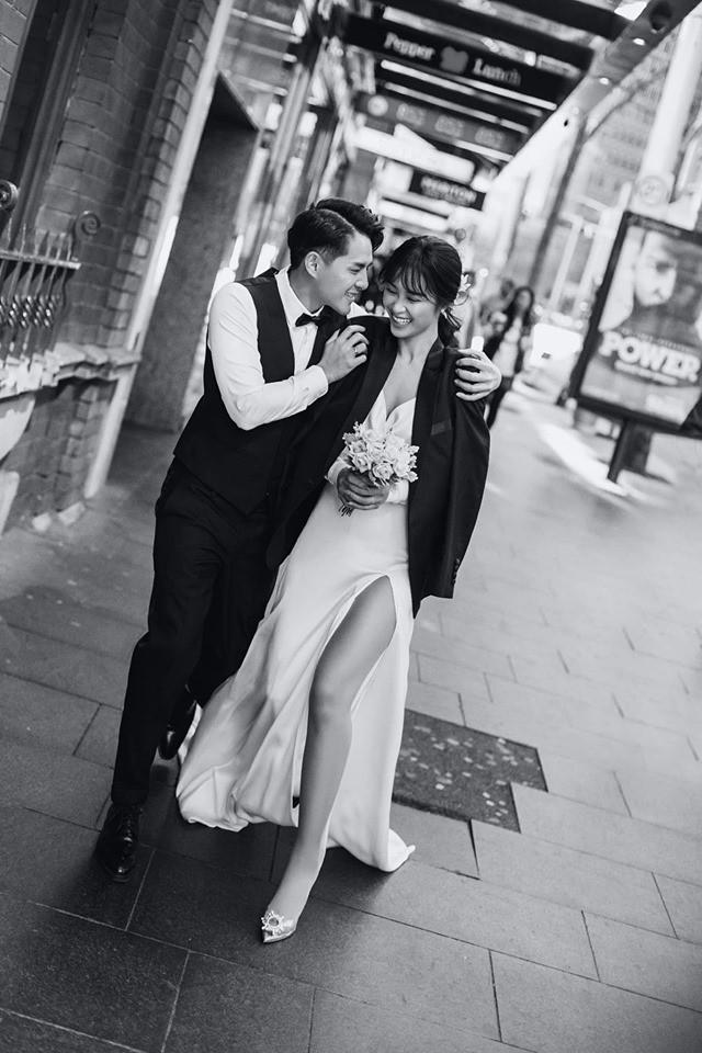 Đông Nhi - Ông Cao Thắng tung ảnh cưới đen trắng đẹp như mơ ở Sydney - ảnh 4