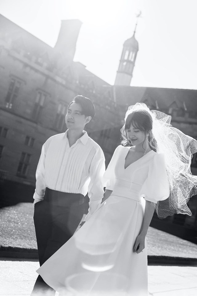 Đông Nhi - Ông Cao Thắng tung ảnh cưới đen trắng đẹp như mơ ở Sydney - ảnh 8