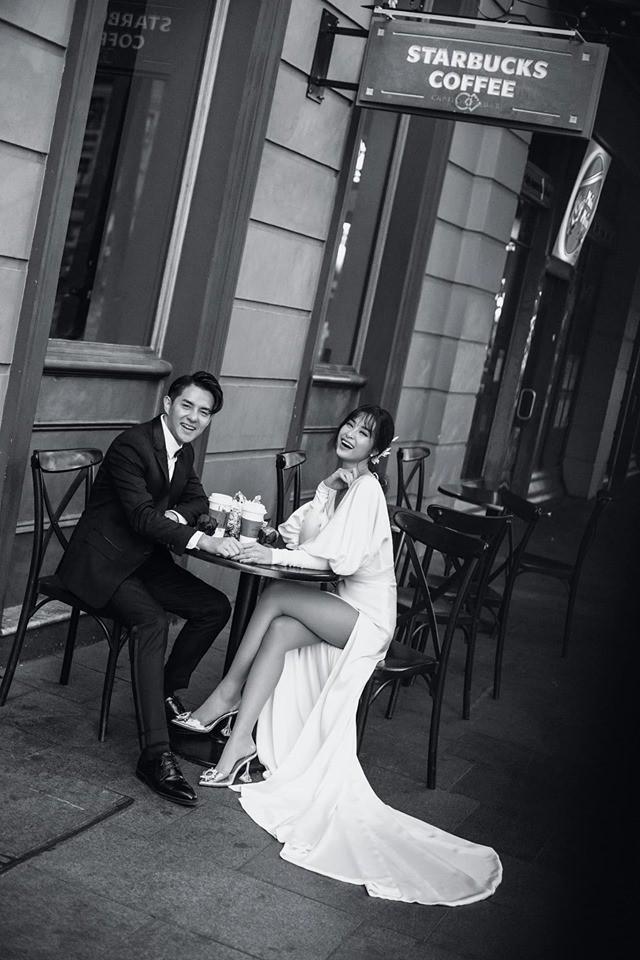 Đông Nhi - Ông Cao Thắng tung ảnh cưới đen trắng đẹp như mơ ở Sydney - ảnh 12
