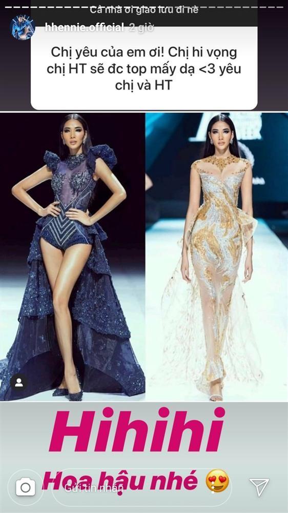 H'Hen Niê khen hết lời, dự đoán Hoàng Thuỳ giành vương miện Miss Universe 2019 - ảnh 3
