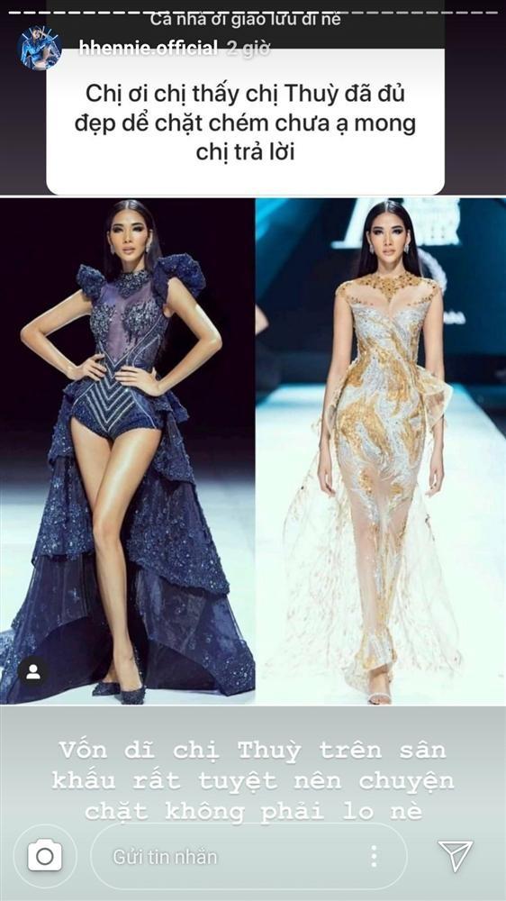 H'Hen Niê khen hết lời, dự đoán Hoàng Thuỳ giành vương miện Miss Universe 2019 - ảnh 1