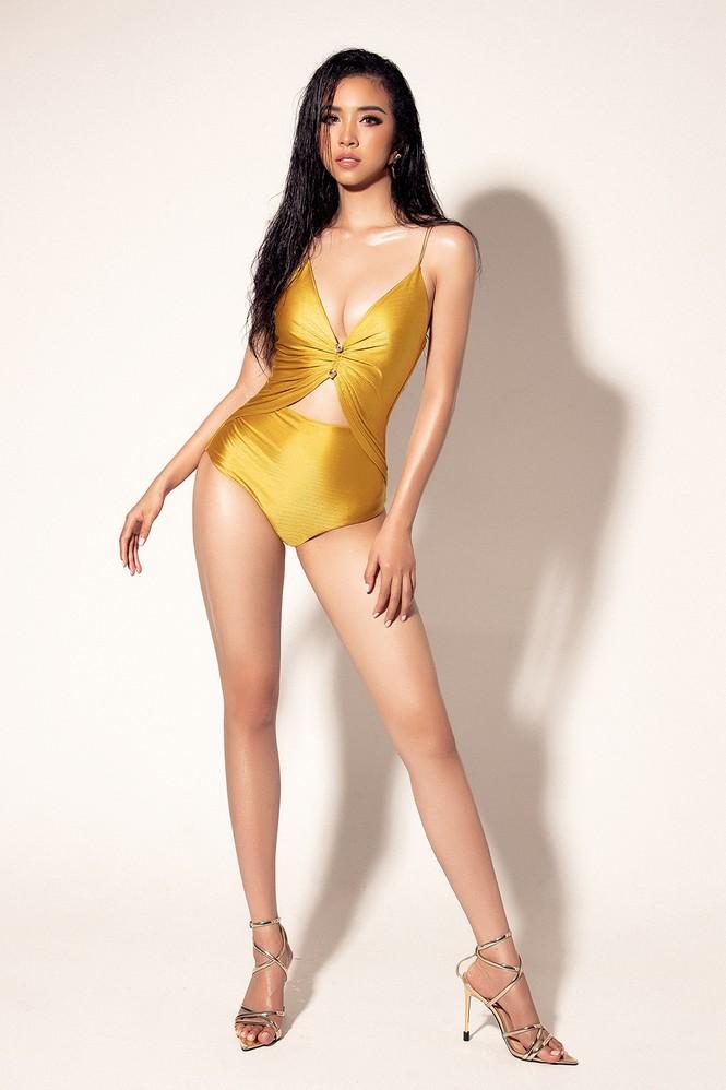 Thúy An xuất hiện gợi cảm nổi bật với bikini ở trang chủ Miss Intercontinental - ảnh 4