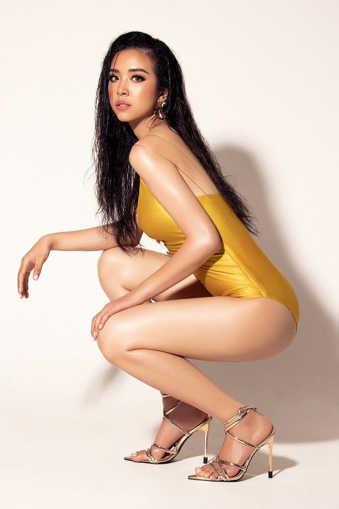 Thúy An xuất hiện gợi cảm nổi bật với bikini ở trang chủ Miss Intercontinental - ảnh 5