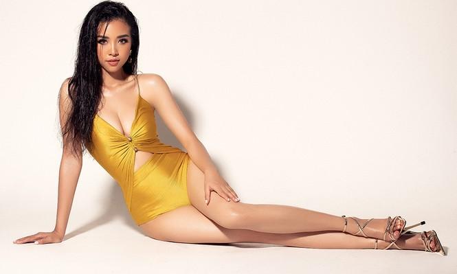 Thúy An xuất hiện gợi cảm nổi bật với bikini ở trang chủ Miss Intercontinental - ảnh 6