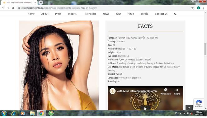 Thúy An xuất hiện gợi cảm nổi bật với bikini ở trang chủ Miss Intercontinental - ảnh 3