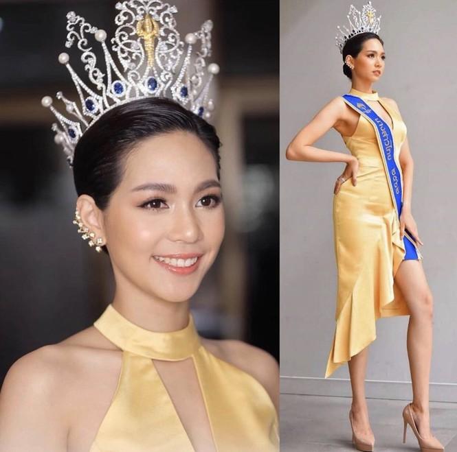 Hoa hậu Quốc tế 2019: Nữ dược sĩ xinh đẹp, đam mê thể hình - ảnh 1