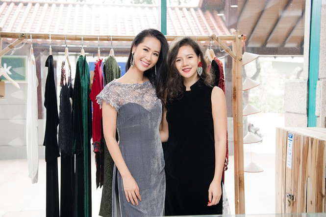Tái xuất sau khi sinh con, Ngô Phương Lan rạng rỡ thử đồ để dự show thời trang - ảnh 6