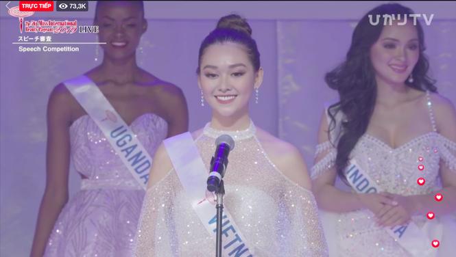 Hành trình tới top 8 cùng nhiều dấu ấn của Tường San tại Hoa hậu Quốc tế 2019 - ảnh 16