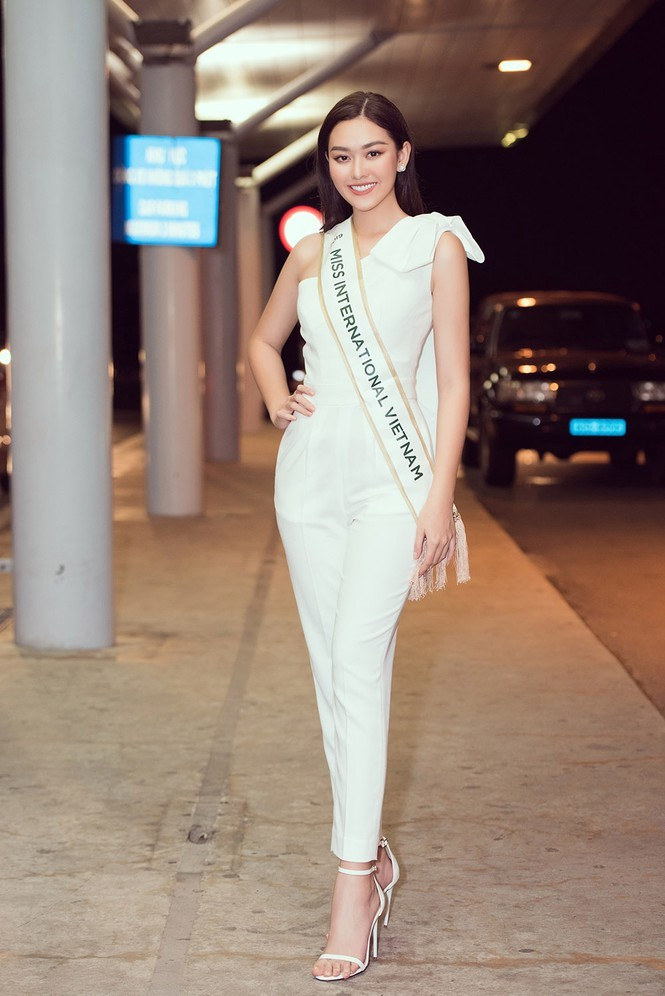 Hành trình tới top 8 cùng nhiều dấu ấn của Tường San tại Hoa hậu Quốc tế 2019 - ảnh 1