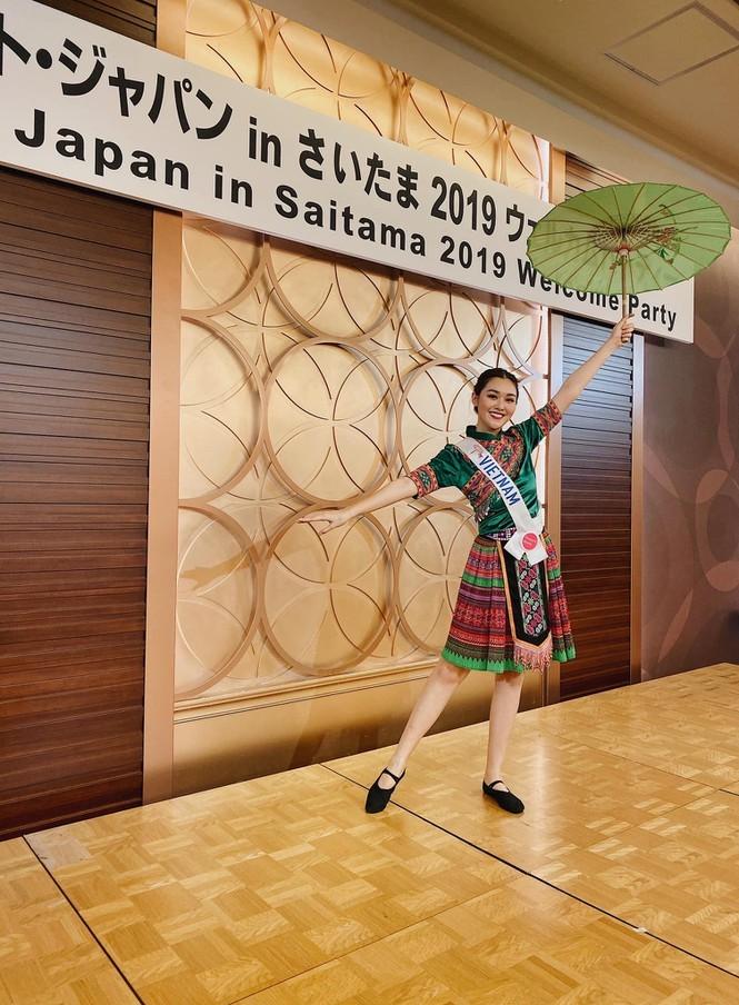 Hành trình tới top 8 cùng nhiều dấu ấn của Tường San tại Hoa hậu Quốc tế 2019 - ảnh 8