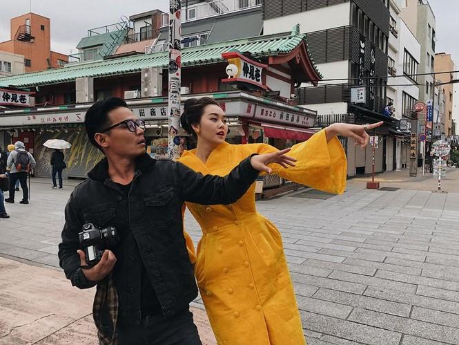 Tường San rạng rỡ trên đường phố Nhật Bản, tiết lộ ngày trở về Việt Nam - ảnh 4