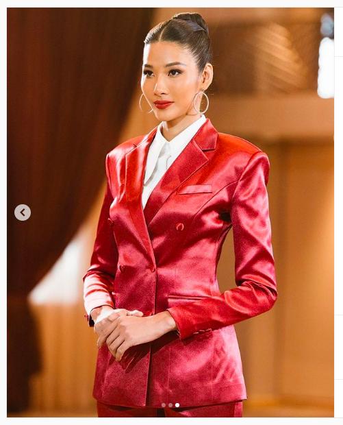 Mai Phương Thuý hờ hững áo vest khoe vòng một gợi cảm khiến fans 'bỏng mắt'  - ảnh 8