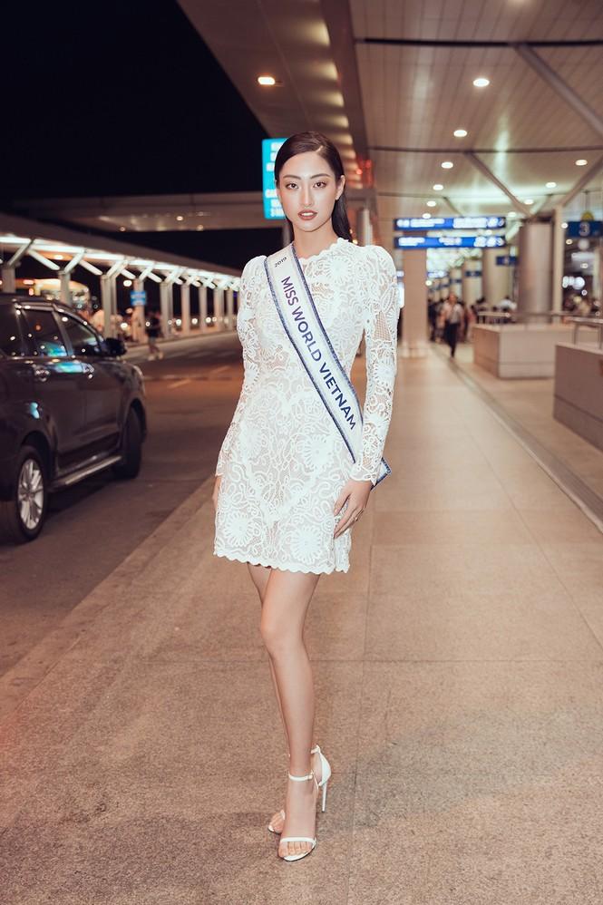 Lương Thuỳ Linh và dàn Hoa hậu đính đám làm 'náo loạn' sân bay lúc nửa đêm - ảnh 4