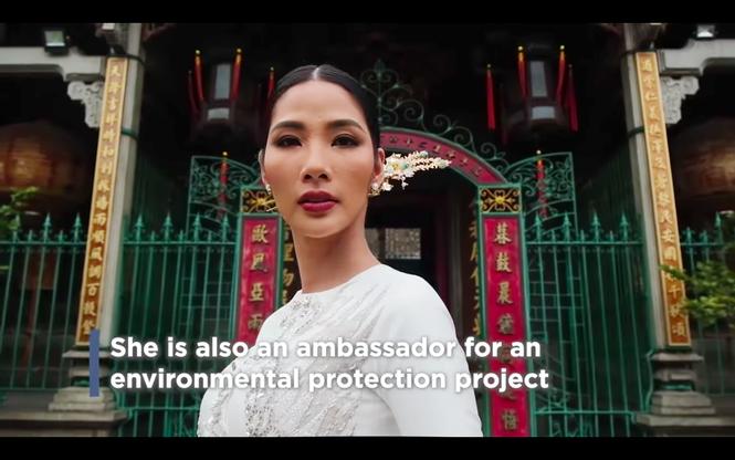Hoàng Thuỳ chiếm trọn 'spotlight' trong clip về dàn thí sinh châu Á - TBD - ảnh 4