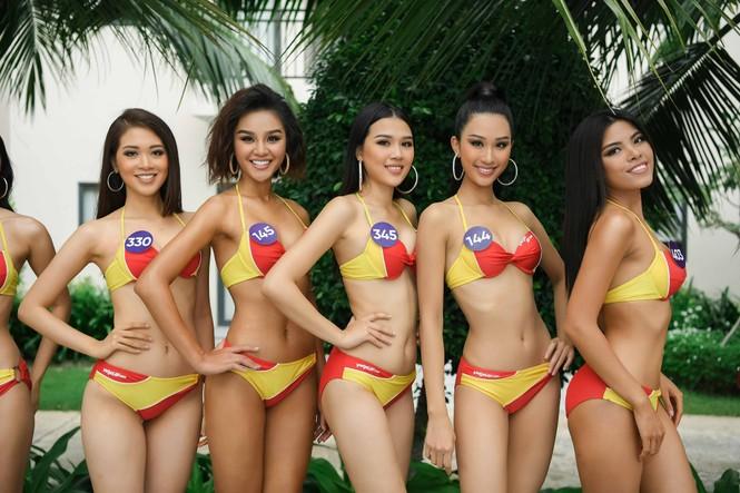 10 body nóng bỏng nhất phần thi Người đẹp Biển ở Hoa hậu Hoàn vũ Việt Nam 2019 - ảnh 1