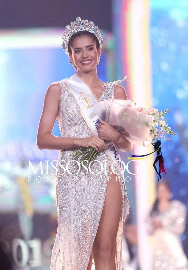 Vẻ đẹp nóng bỏng của người mẫu lai đăng quang Hoa hậu Siêu quốc gia 2019 - ảnh 1