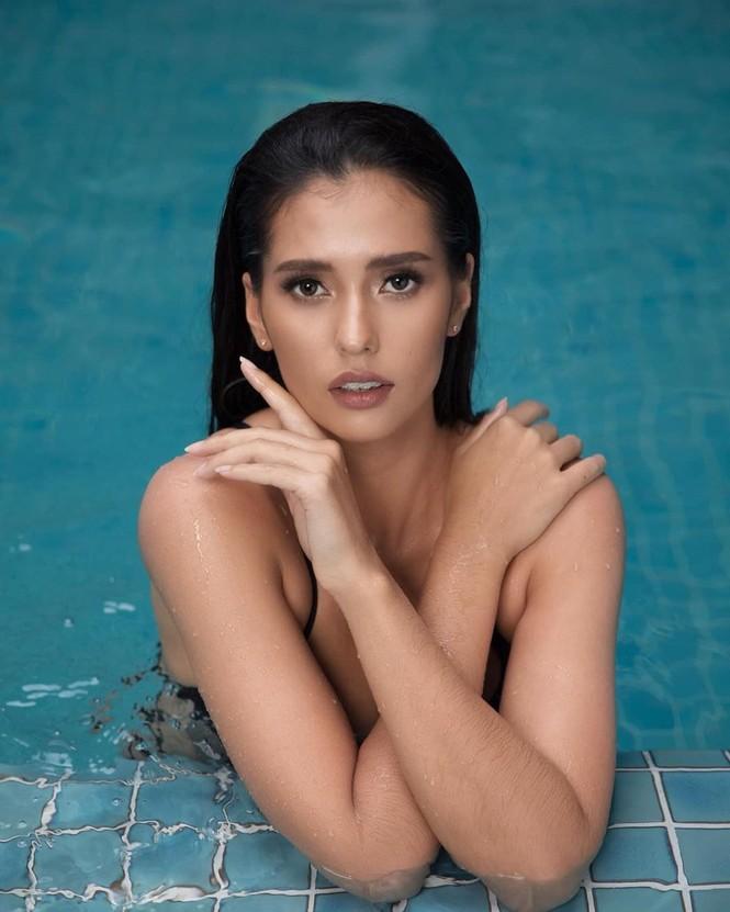Vẻ đẹp nóng bỏng của người mẫu lai đăng quang Hoa hậu Siêu quốc gia 2019 - ảnh 6