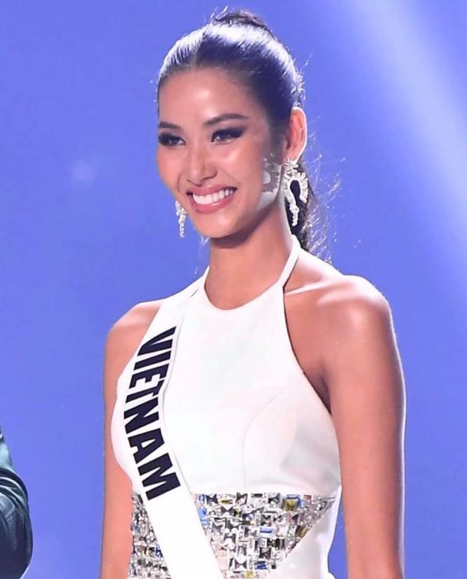 Hoàng Thuỳ: Các thí sinh vote tôi vào top 3, Hoa hậu Nam Phi nghĩ tôi đăng quang - ảnh 1