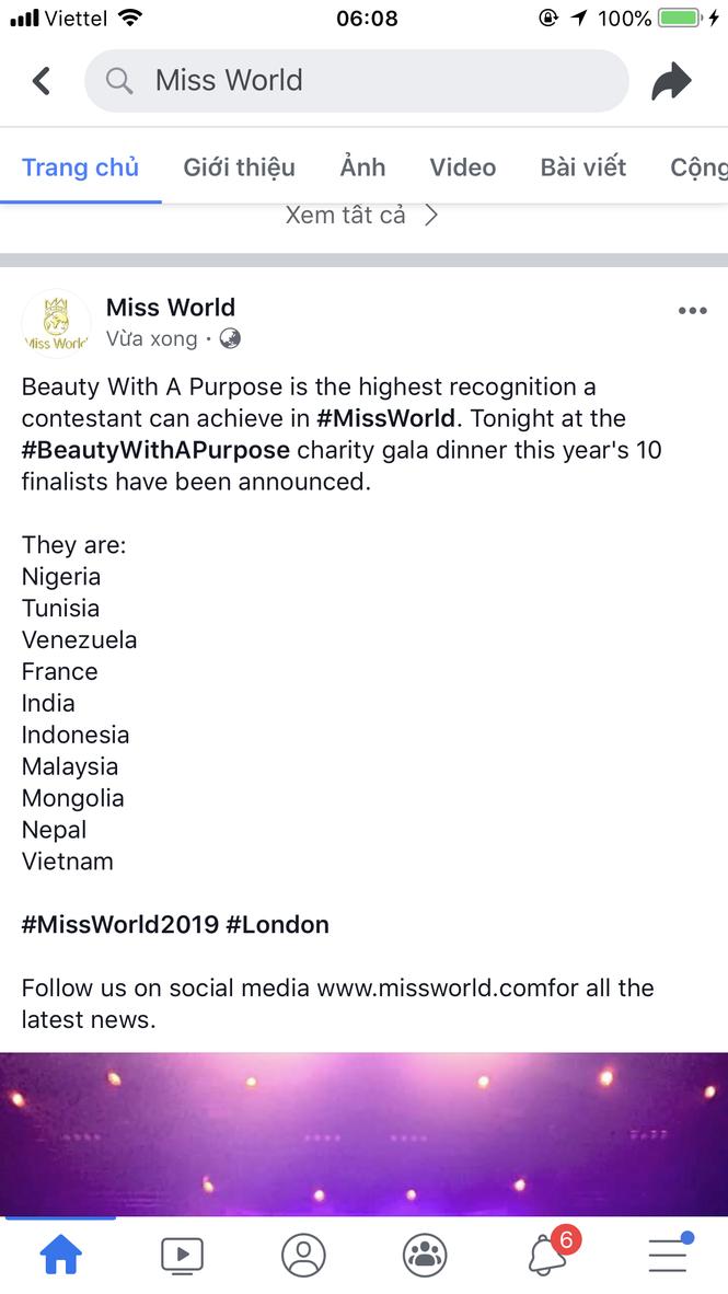 Lương Thuỳ Linh lọt Top 10 dự án Nhân ái hay nhất Miss World 2019 - ảnh 1