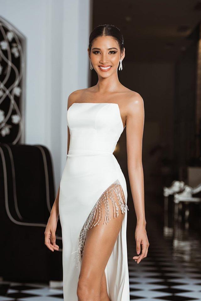 Hoàng Thuỳ tái xuất sau Miss Universe, khoe chân thon 'cực phẩm' - ảnh 3
