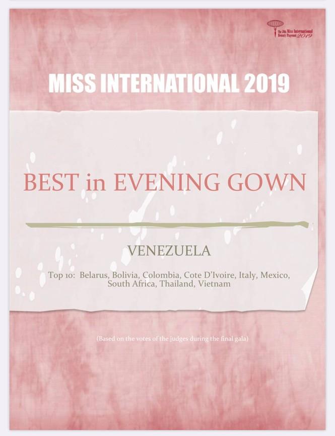 Hơn 1 tháng sau Miss International 2019, Tường San ẵm thêm giải thưởng mới - ảnh 2