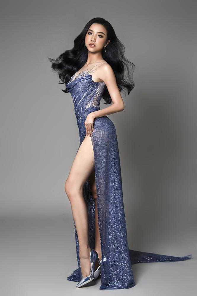 Á hậu Thuý An hé lộ váy dạ hội nóng bỏng trong chung kết Hoa hậu Liên lục địa - ảnh 6