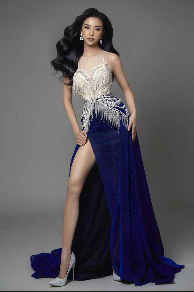 Á hậu Thuý An hé lộ váy dạ hội nóng bỏng trong chung kết Hoa hậu Liên lục địa - ảnh 1