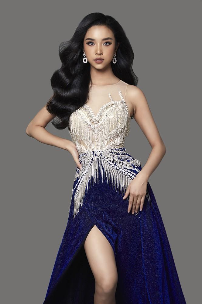 Á hậu Thuý An hé lộ váy dạ hội nóng bỏng trong chung kết Hoa hậu Liên lục địa - ảnh 5